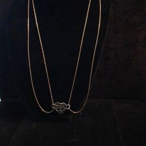 Merx Jewelry - Merx Double Heart ❤️ Chain